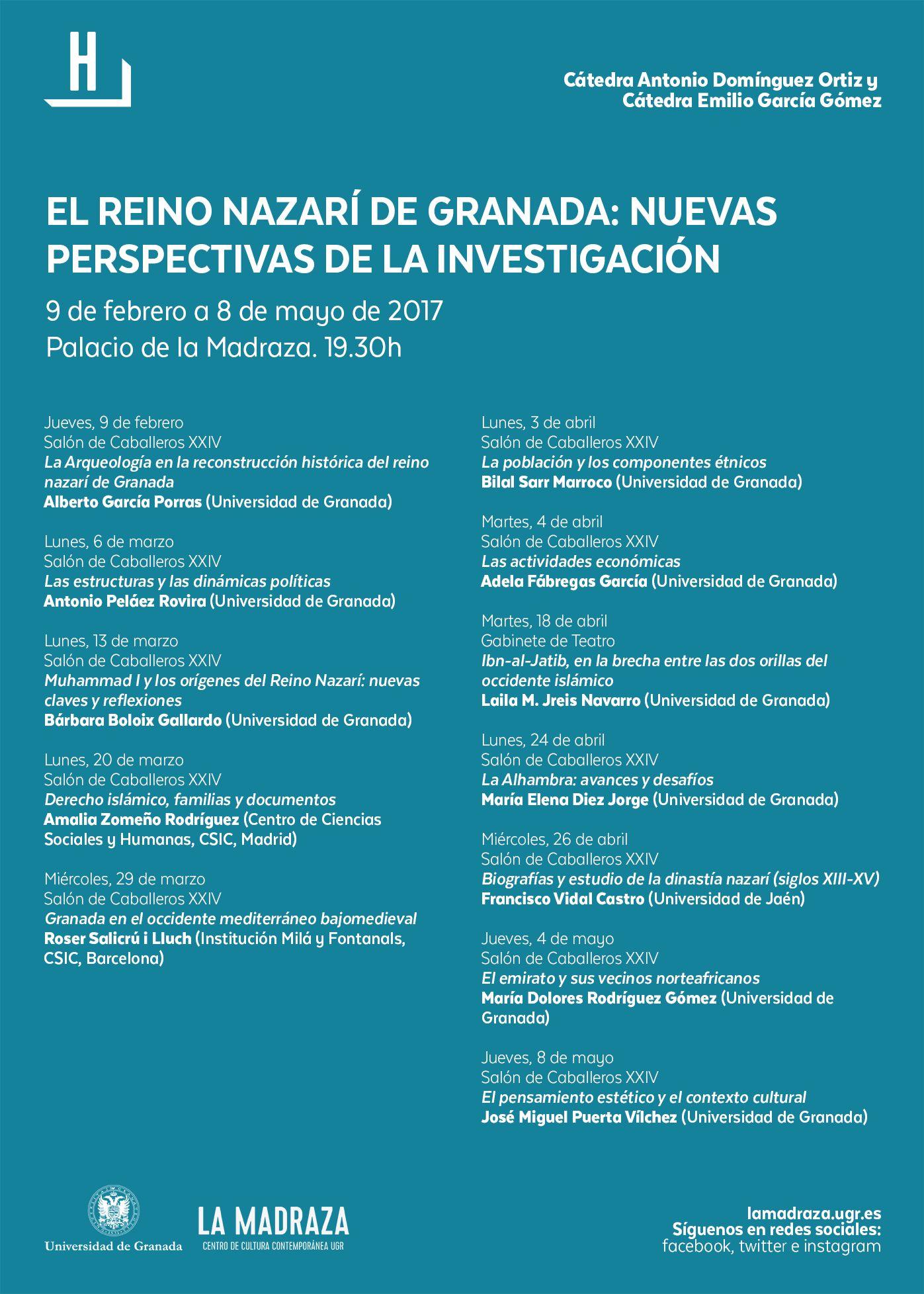 Del 9/2/17 al 8/5/17 tendrán lugar, en #LaMadraza , una serie de ...