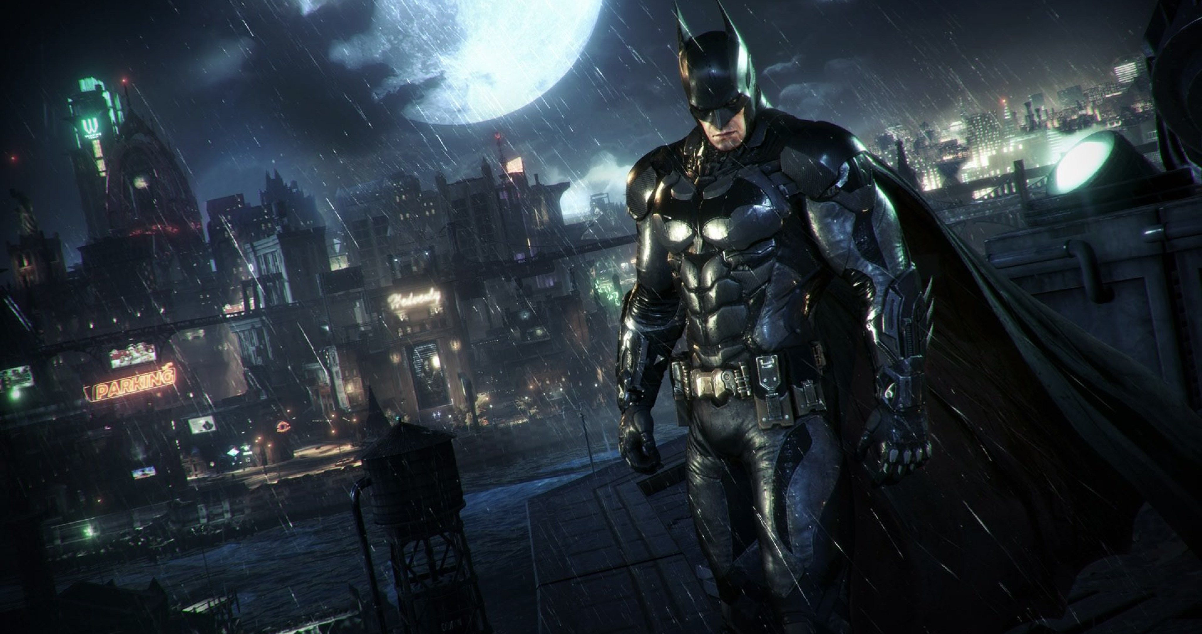 Batman Arkham Knight Video Game 4k Ultra Hd Wallpaper