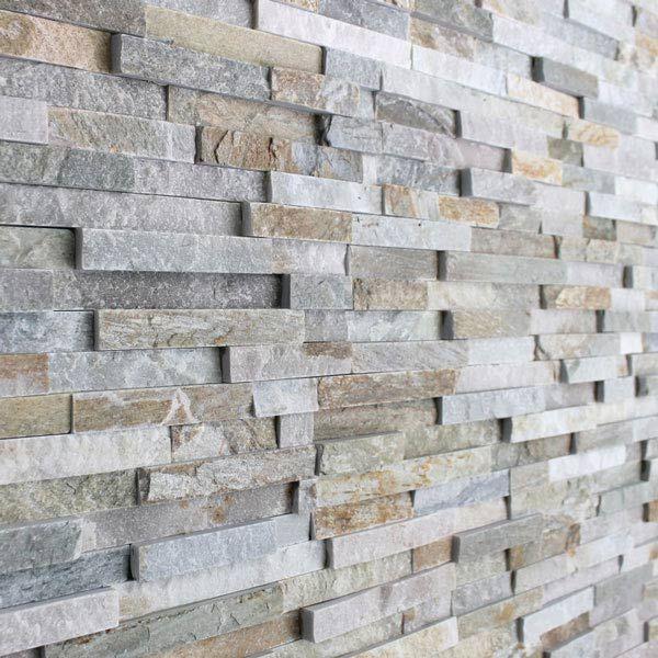 15x60cm Oyster Maxi Split Face Slate Tile