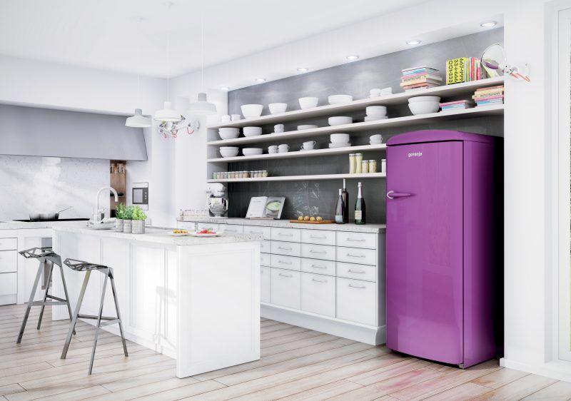 Kühlschrank Im Retro Design : Der bosch retro kühlschrank gibt ihrer küche einen charmanten blick