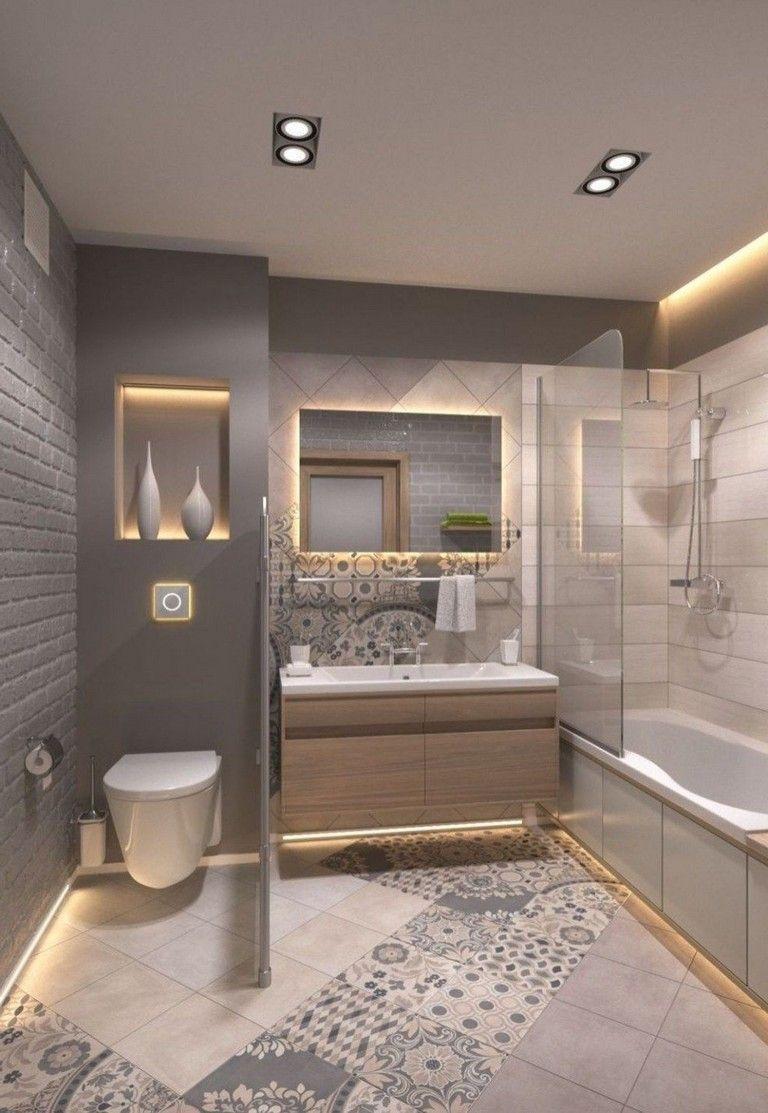 33 Stunning Small Bathroom Remodel Ideas On A Budget In 2020 Basement Bathroom Remodeling Bathroom Design Small Bathroom Interior