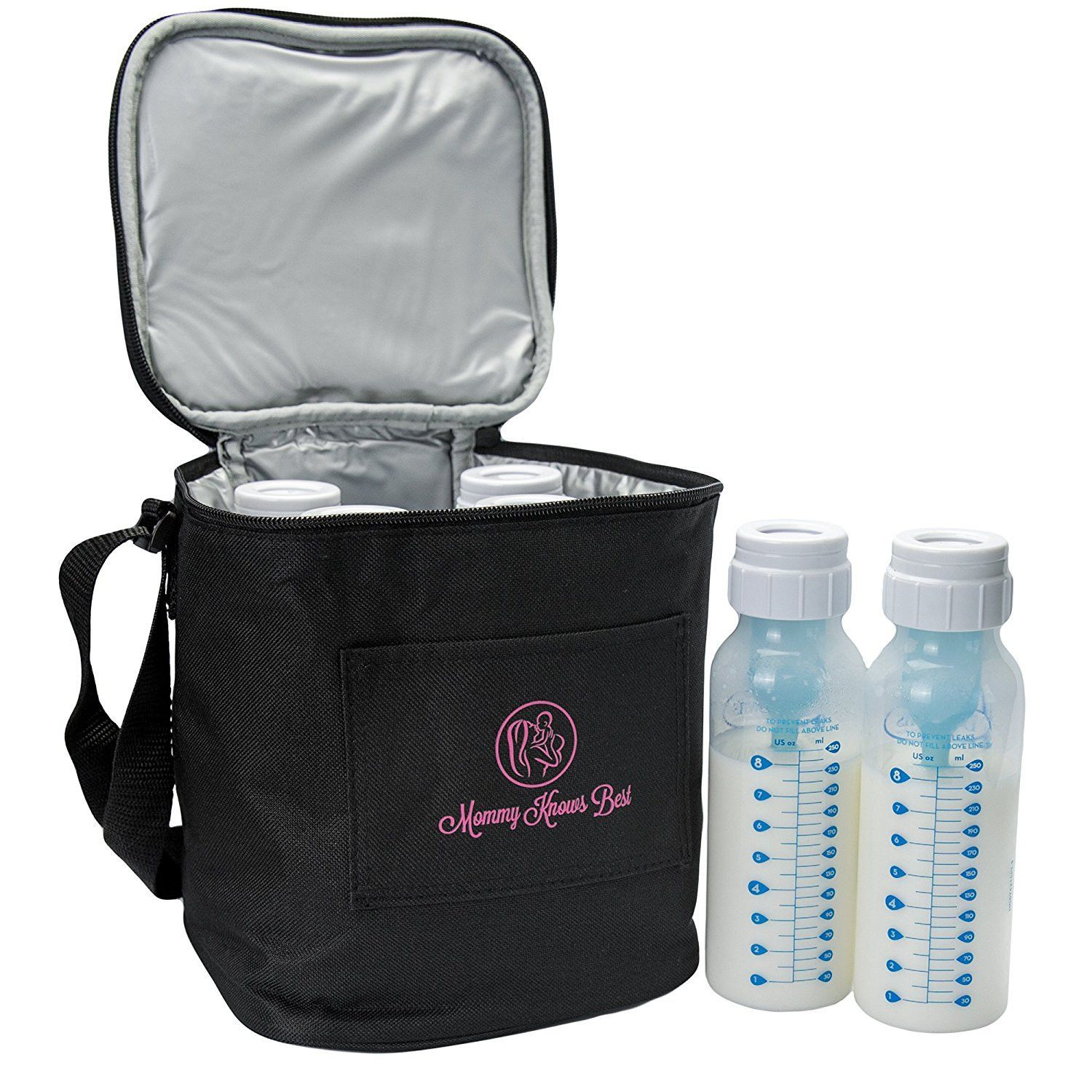 Breast Milk Baby Bottle Cooler Bag For Insulated Breastmilk Storage w//Air Tight Design to Lock in the Cold /& Preserve Important Nutrients for Your Baby