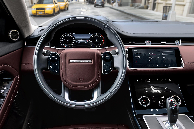 2020 Range Rover Evoque sports shades of Velar, mild