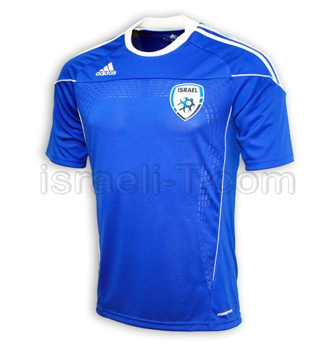 Official Adidas Israel Soccer Jersey  112f91371