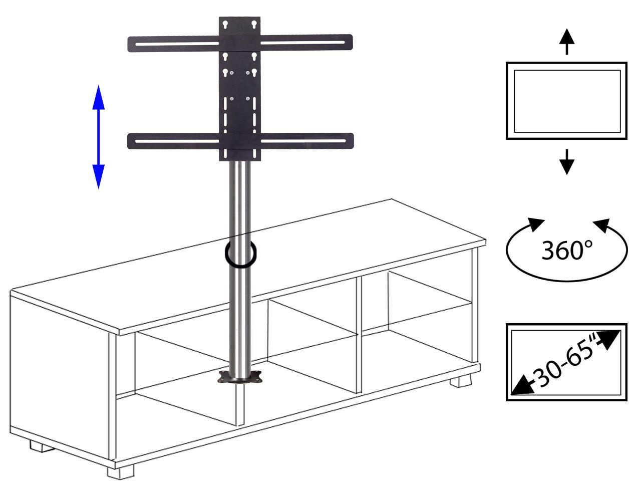 Unsere neue s ule zum nachtr glichen einbau einer - Tv halterung selber bauen ...