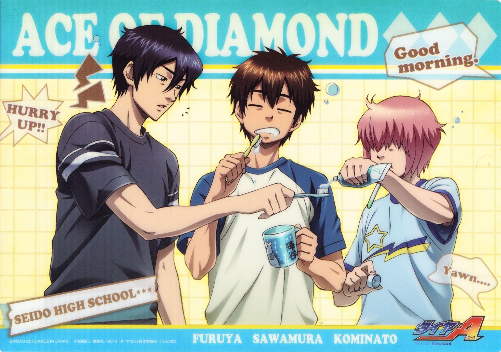 Anime Ace Of Diamond Wallpaper Ace Of Diamonds Anime Ace