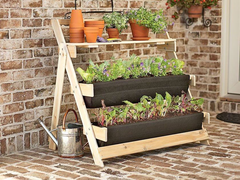 3 tier terrace planter garden pinterest inspiration. Black Bedroom Furniture Sets. Home Design Ideas