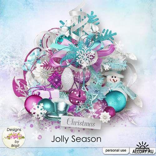 Скрап-набор Jolly Season