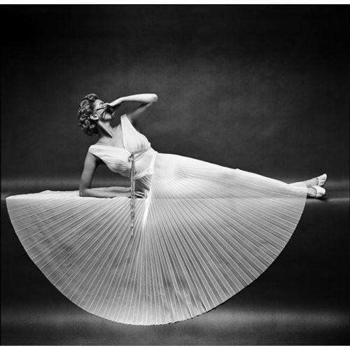 Carmen Dell'Orefice, Photographed by Mark Shaw, 1954