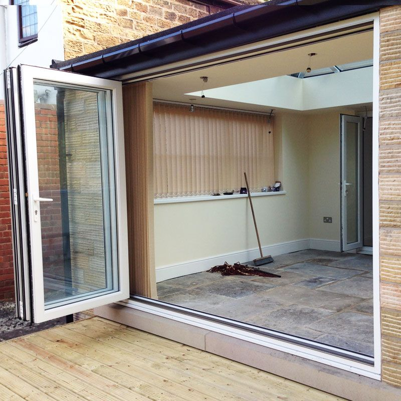 8ft uPVC Folding Doors | Flying Doors & 8ft uPVC Folding Doors | Flying Doors | Extension | Pinterest ...