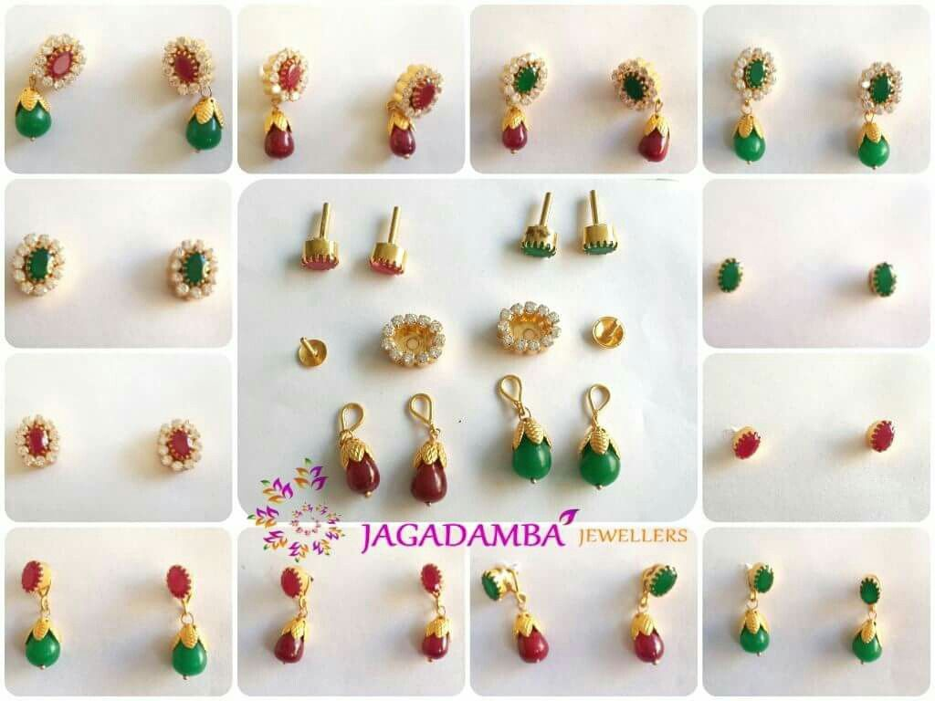 Ear rings | Emeralds | Pinterest | Ear rings, Ring and India jewelry