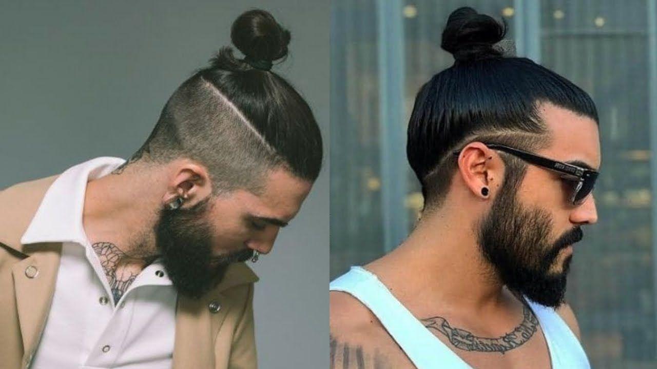 Best Man Bun Hairstyles For Men 2019 Top Knot Hairstyles For Men 2019 The Undercut Man Bu Man Bun Hairstyles Man Bun Undercut Top Knot Hairstyles
