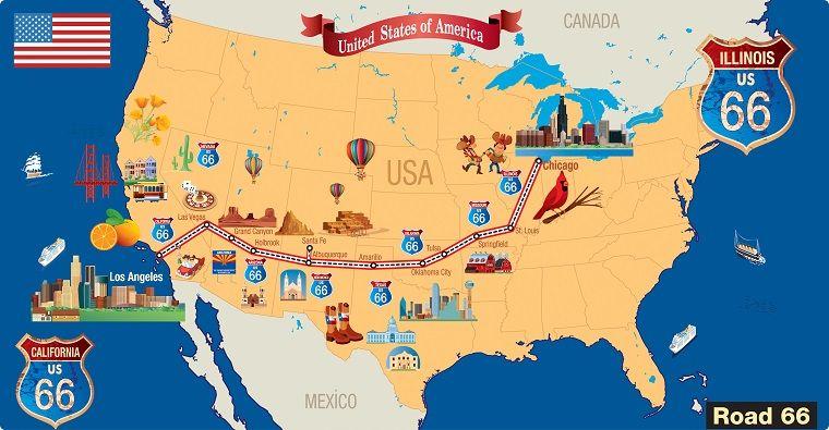 Cartina Topografica Usa.Pin Su Diario Di Viaggio
