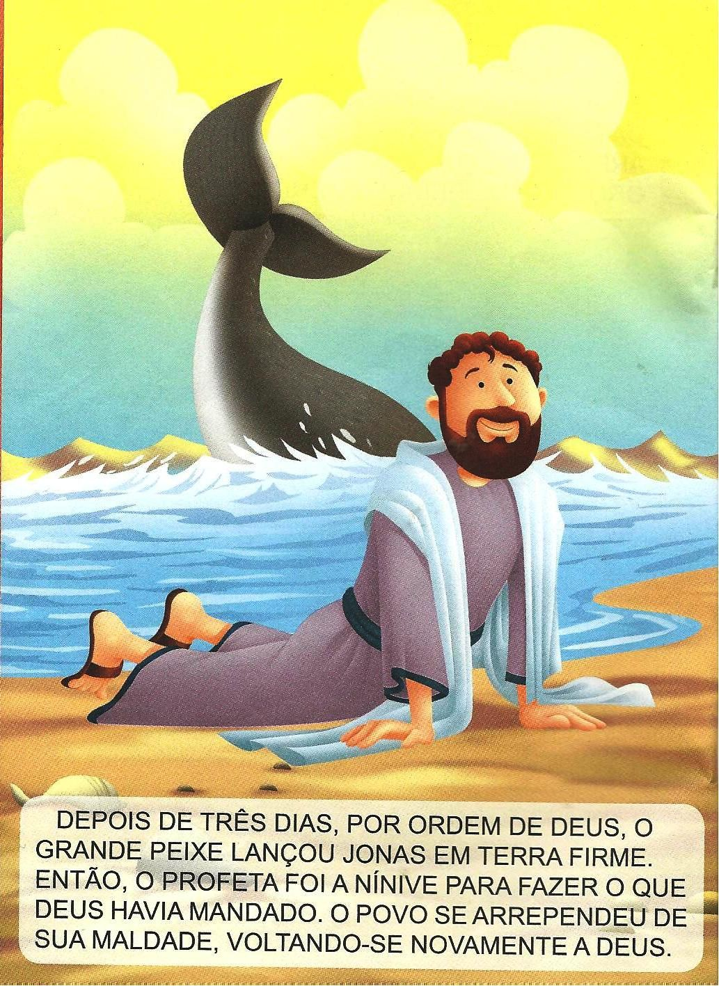 Jonas e o grande peixe | kids for JESUS | Pinterest | Dominical ...