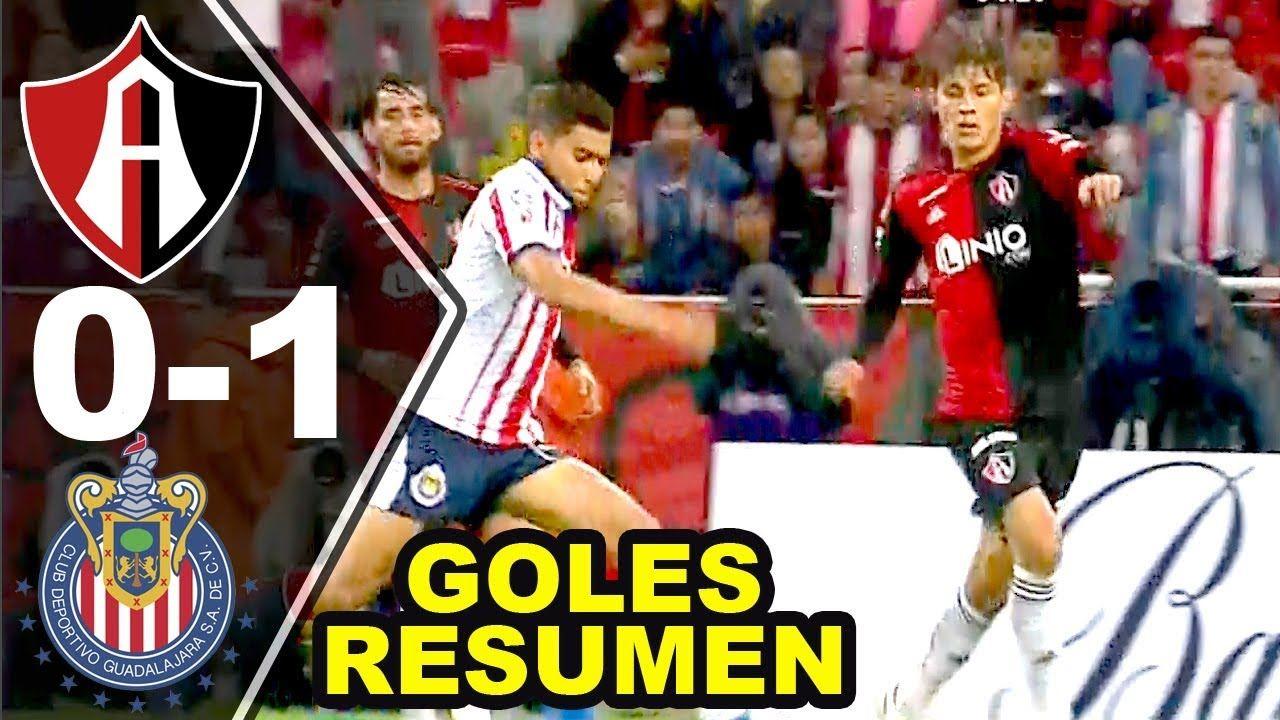 Atlas vs Chivas 01 Resumen Completo Goles Jornada 7 Liga