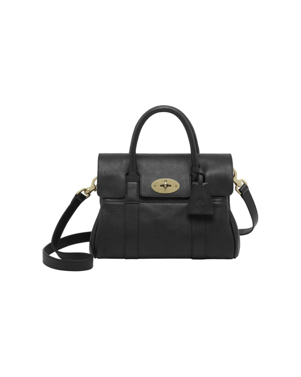 a47444d2de Women s Black  small Bayswater  Leather Satchel