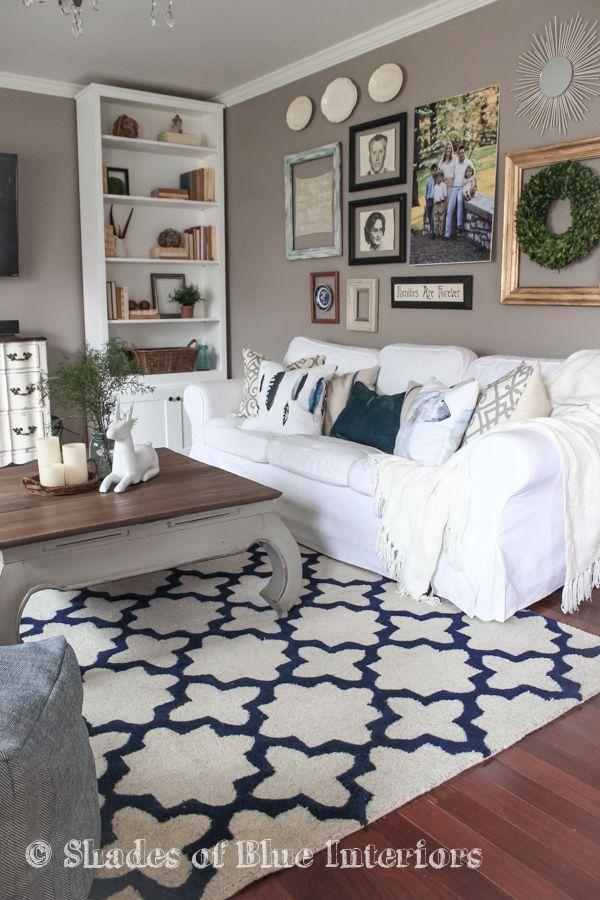 Why You Need A White Slipcovered Sofa Living Room White White