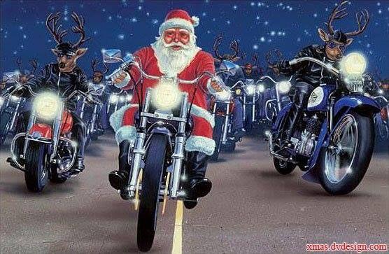 Xmas Bikers