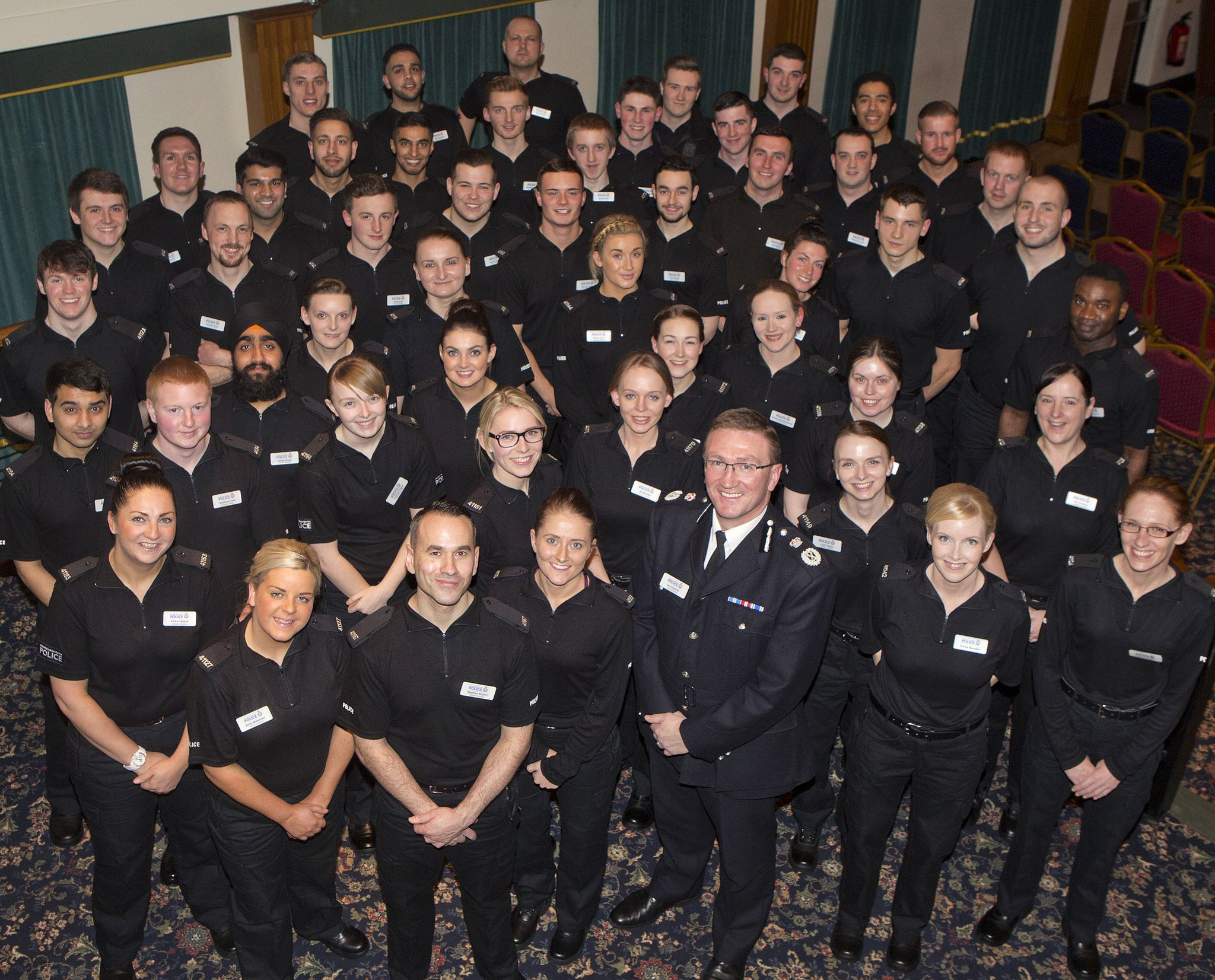 Swearing The Oath Manchester Police Oath Greater Manchester