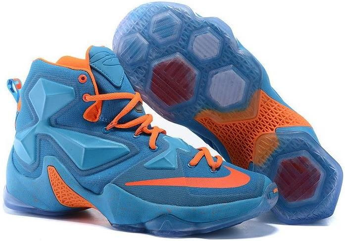 cdde644c6e6 Lebron 13 XIII Blue Orange Red. Lebron 13 XIII Blue Orange Red Mens  Basketball Sneakers ...