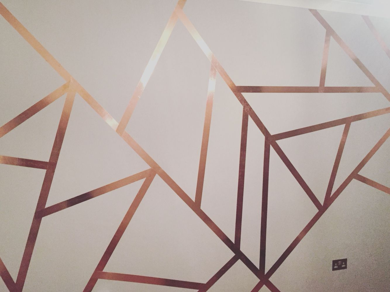 Copper Tape Wall No More Slugs Wall Paint Designs