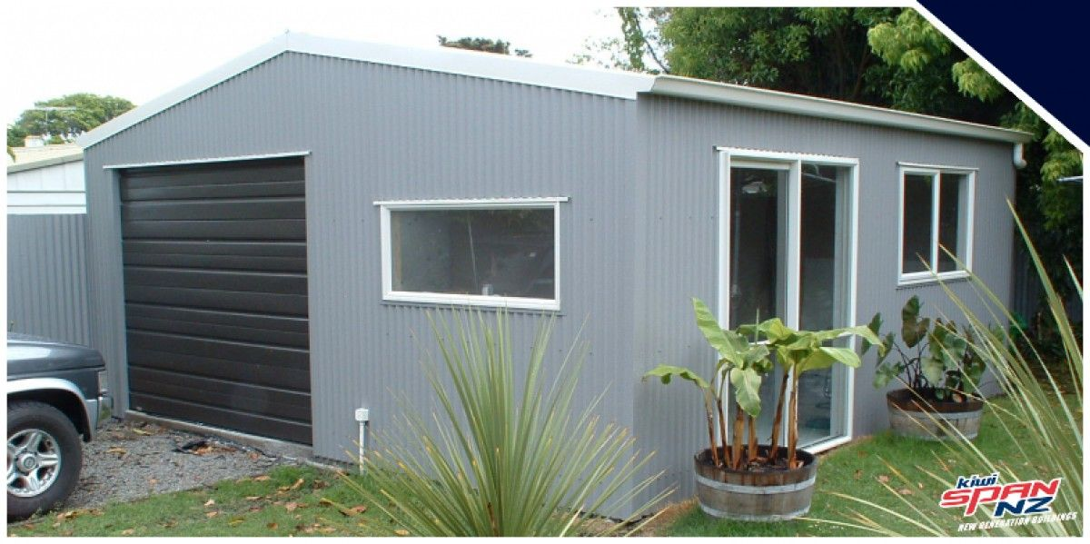 Garage/Sleepout KiwiSpanNZ Outdoor buildings