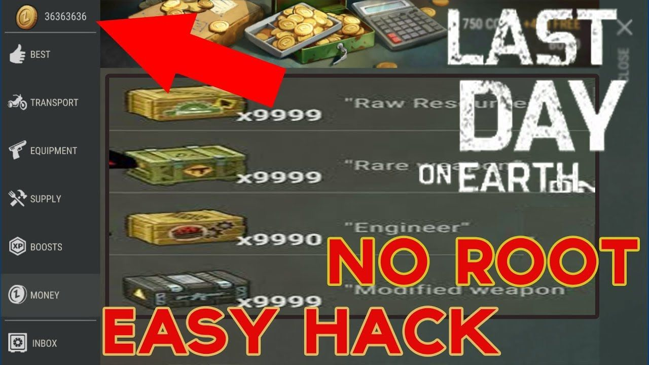 Last Day On Earth 1 6 6 Hack Cheats Unlimited Coins Level 99