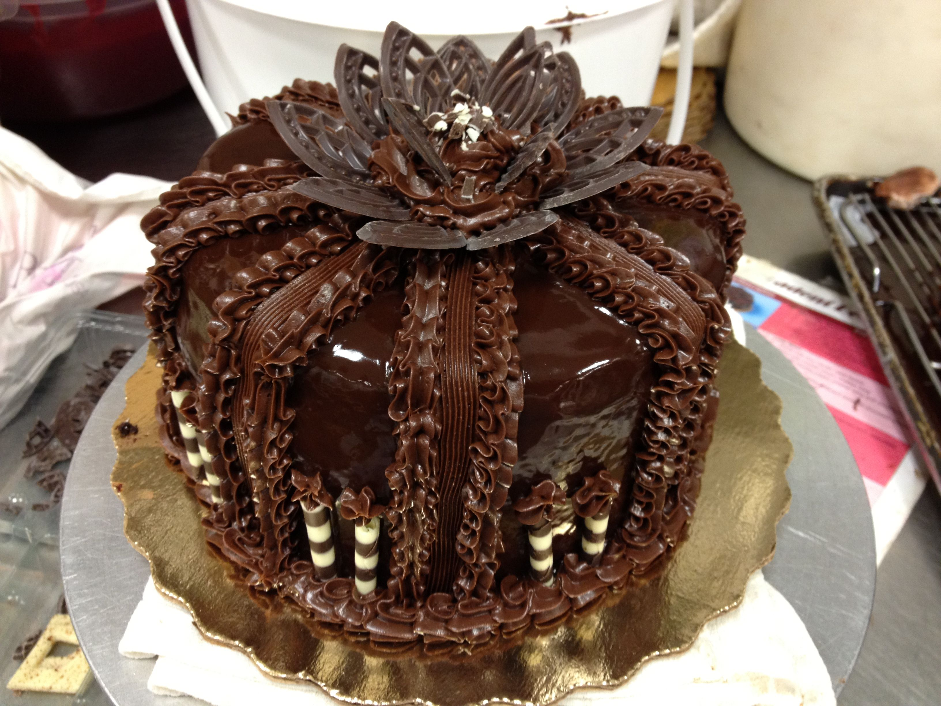 Chocolate ganache supreme that publix makes this is my