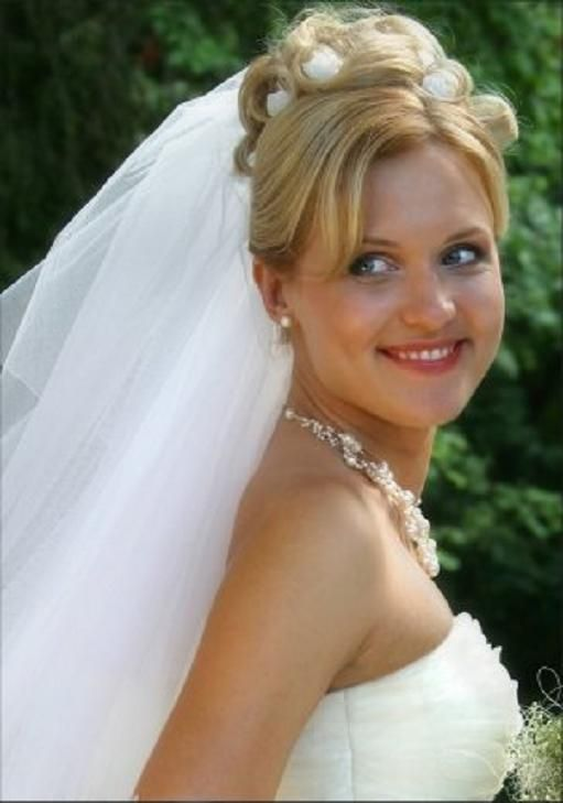 Bride Updos With Veil Google Search Wedding Hairstyles