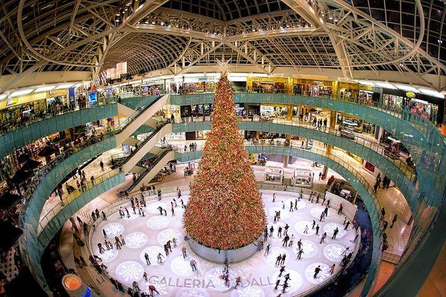 Galleria Mall, Dallas And Texas