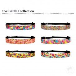 """Photo Realistic 1"""" Stretch Hairband - The Candy Collection"""