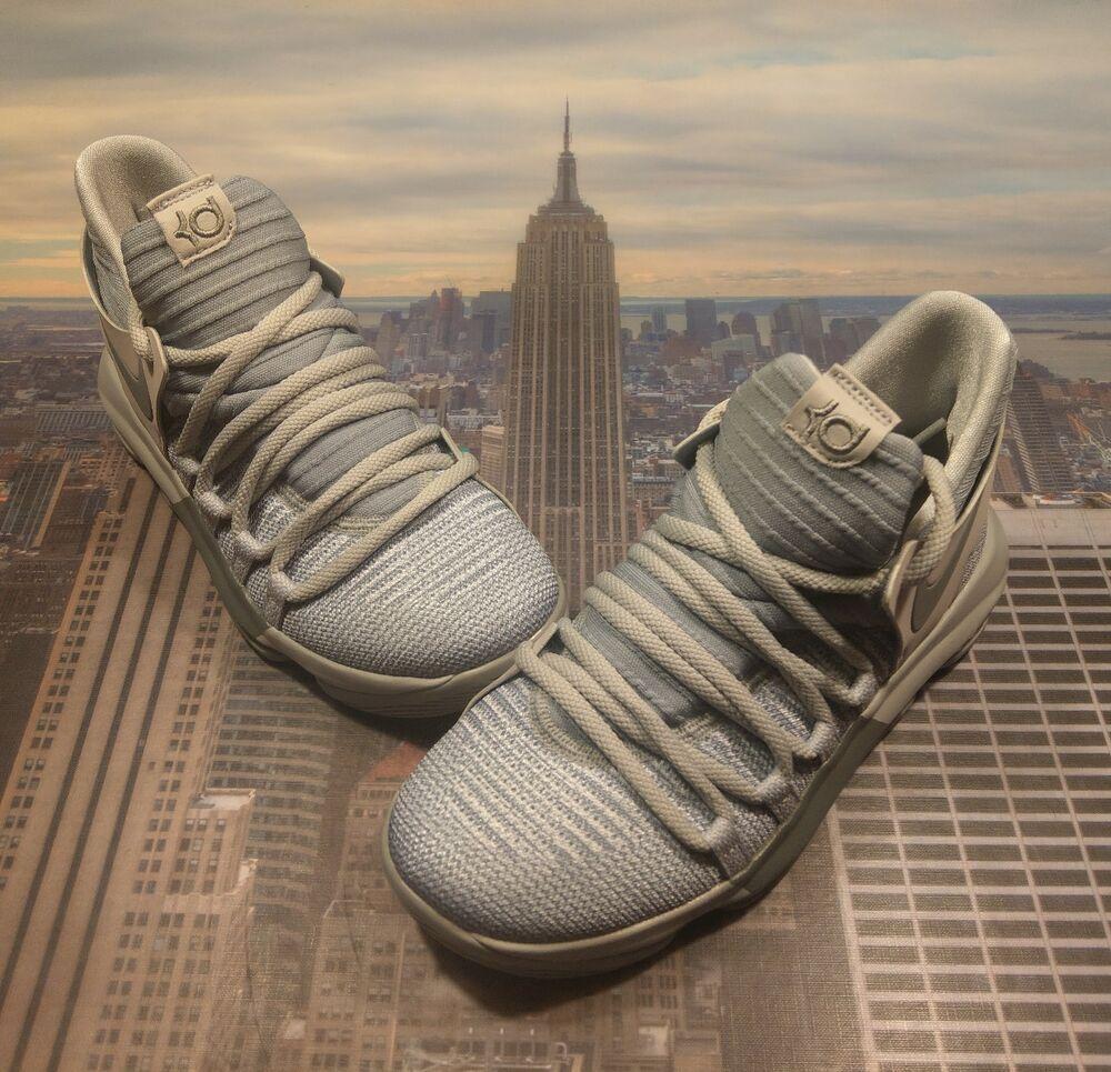 eBay Sponsored Nike Zoom KD 10 Wolf Grey/Cool Grey GS