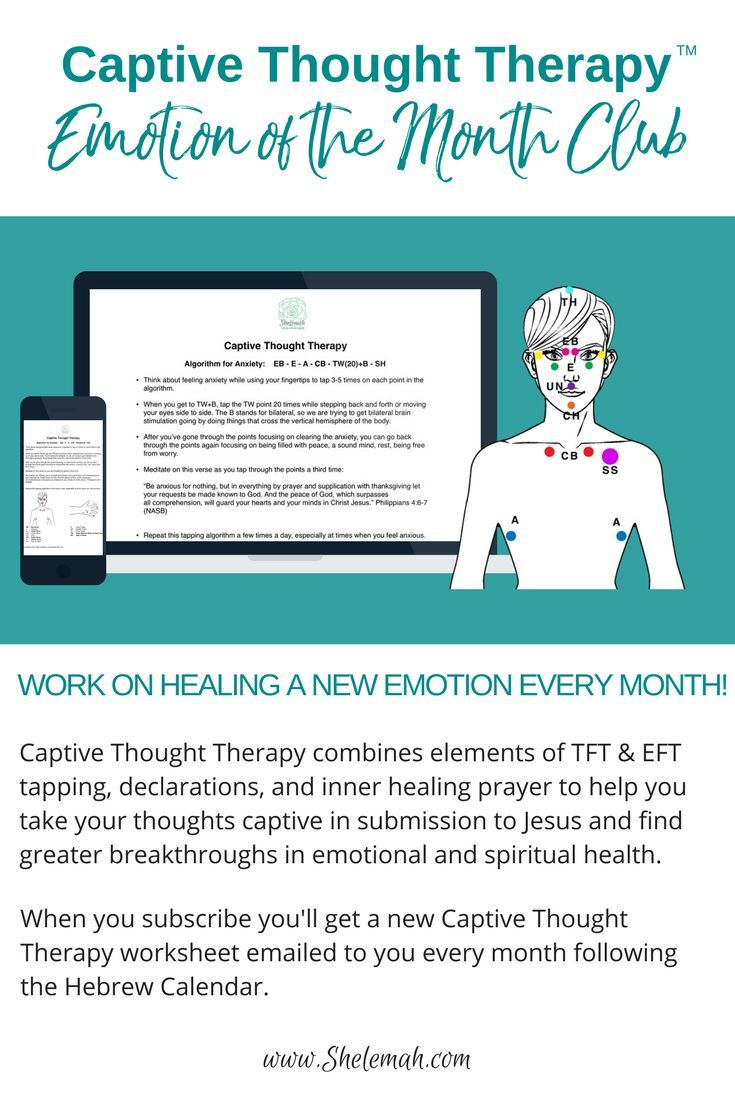 The Process of Tapping Therapy