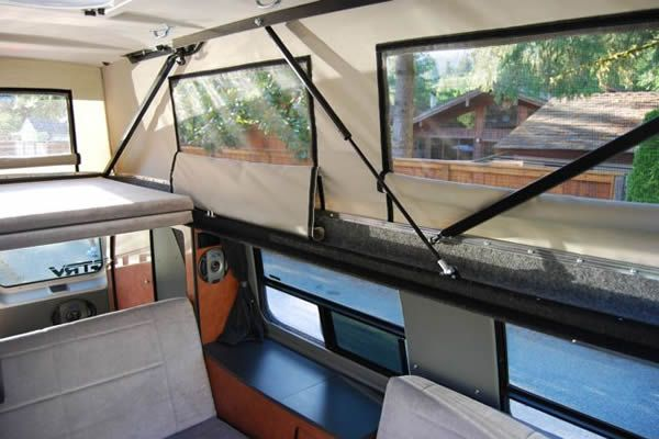 Companies Amp Diy Pop Tops Van Life Camper Pop Top