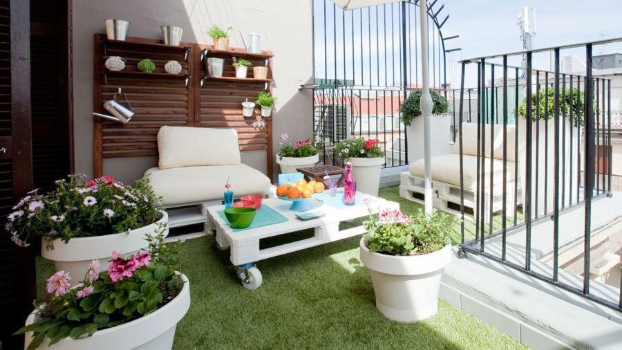 ☀ Terrazas ☀ +77 Ideas Que Te Volverán Loca La vivienda, Buenos - como decorar una terraza