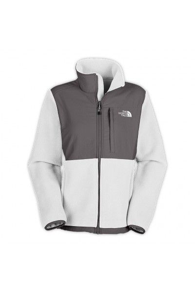 c59440231 The North Face Women's Denali Jacket White Grey | Clothes I like ...