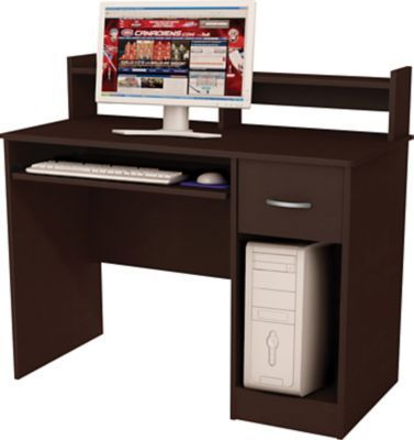 South Shore Metro Computer Desk Chocolate Computer Desk Desk Home Office
