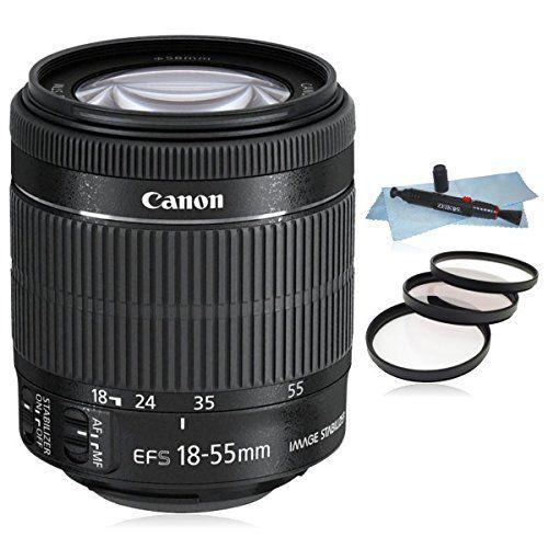 Canon Ef S 18 55mm F 3 5 5 6 Is Stm Lens White Box For Canon Eos Slr Cameras 7d Ii 7d 70d 60d 50d T6i T5i T6 T5 Brennweite Canon Kamera Objektiv