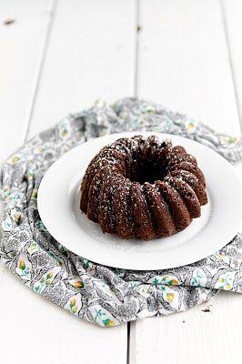 Chocolate Ricotta Pound Cake