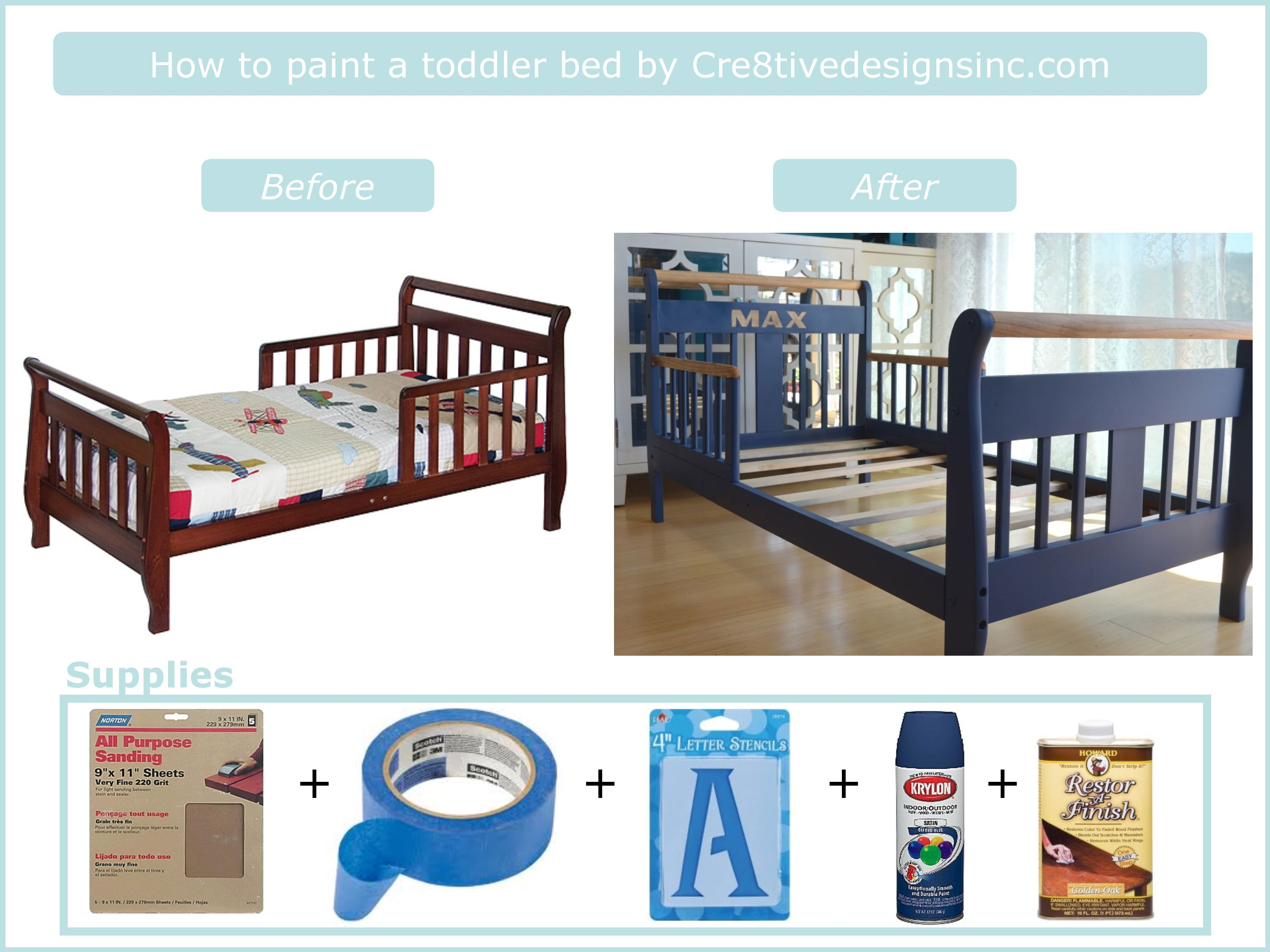 Diy To Transform A Toddler Bed