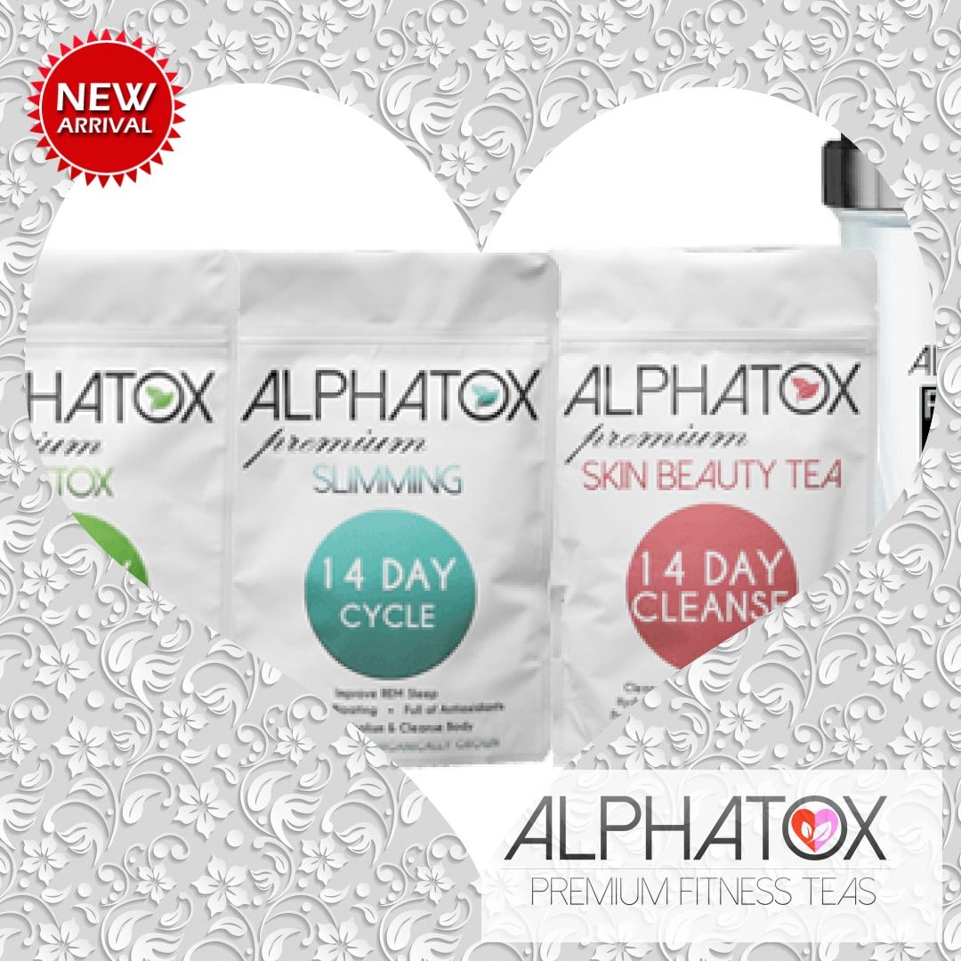 Alphatox Beauty Bundle  #slimming #tea #detox #bloating #14dayslimming #fitness #yoga #gym #loss #fi...