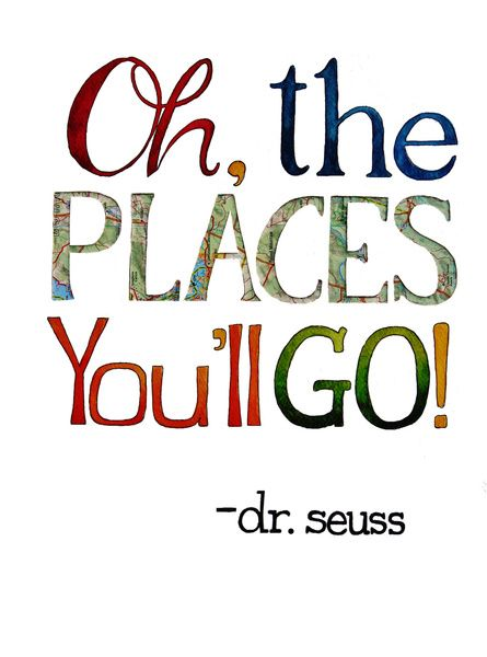 Oh the places you'll go! Framed Art Print by Chelsea Ward | Society6