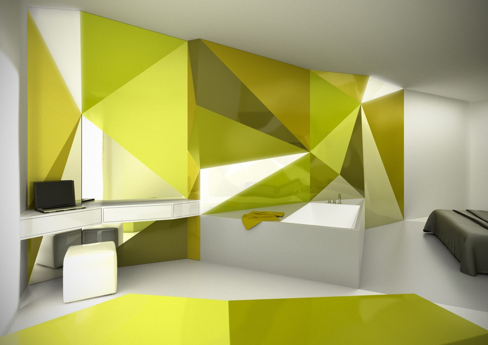 angular interior walls - Google Search | Decorative walls ideas ...