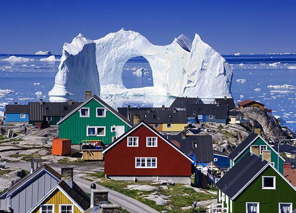 Greenland Iceberg >>> That's a big piece of ice!