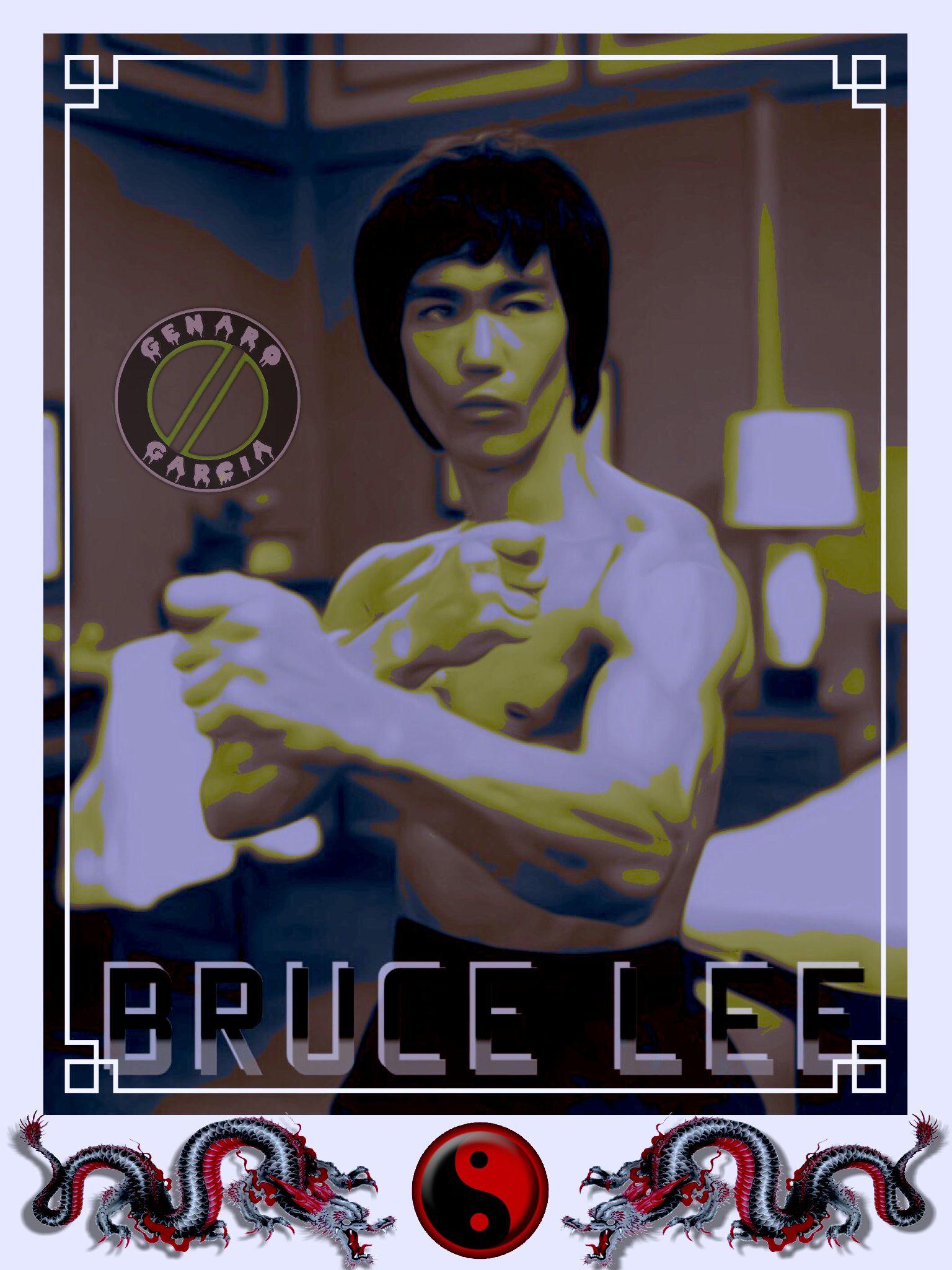 Bruce Lee the little Dragon Deportes