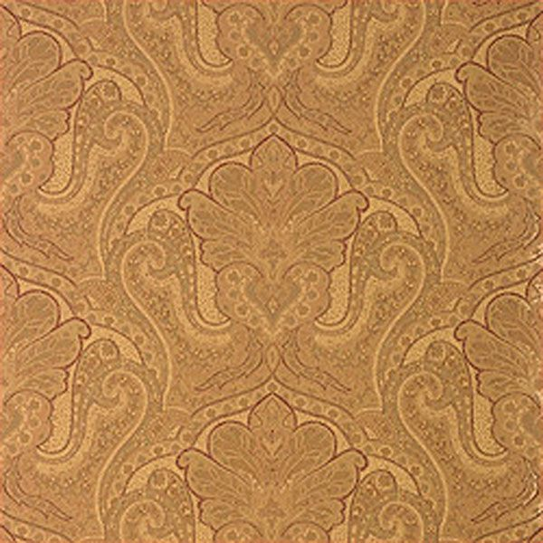 Thibaut Indienne Paisley Brown T5612 Paisley wallpaper