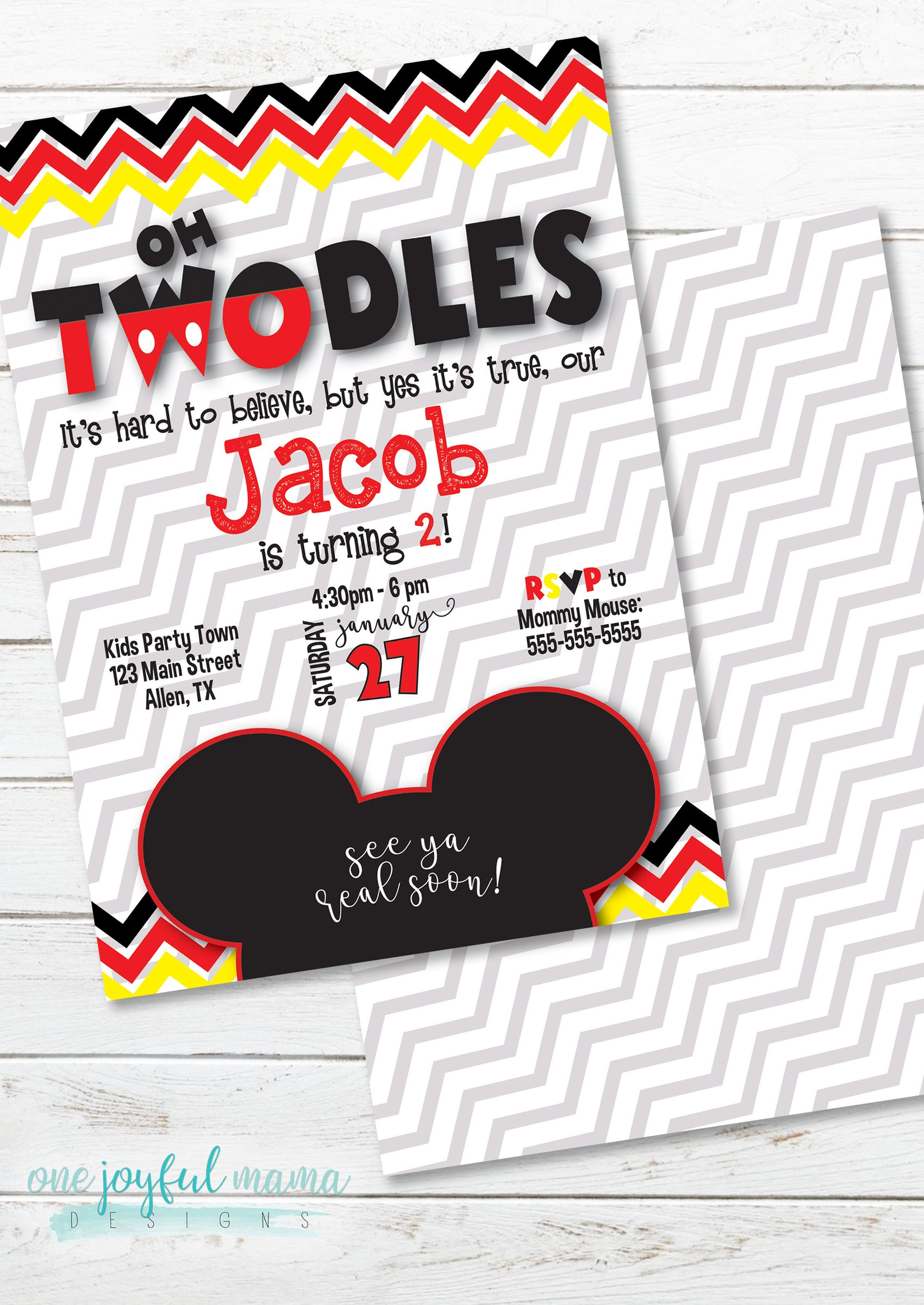 Oh TWOdles 2nd birthday party theme so adorable for a