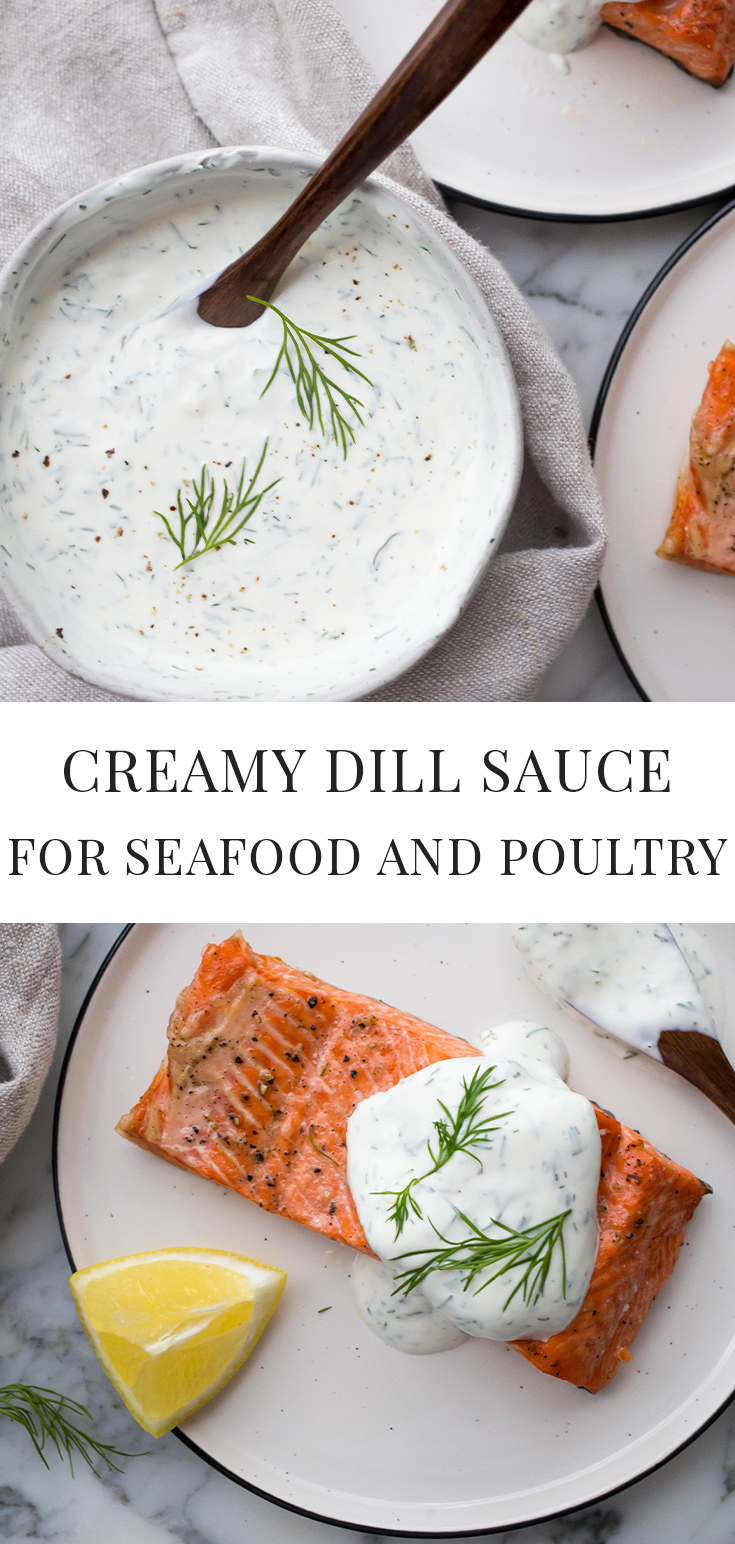 Photo of Creamy Dill Sauce for Salmon – Easy Healthy Recipes