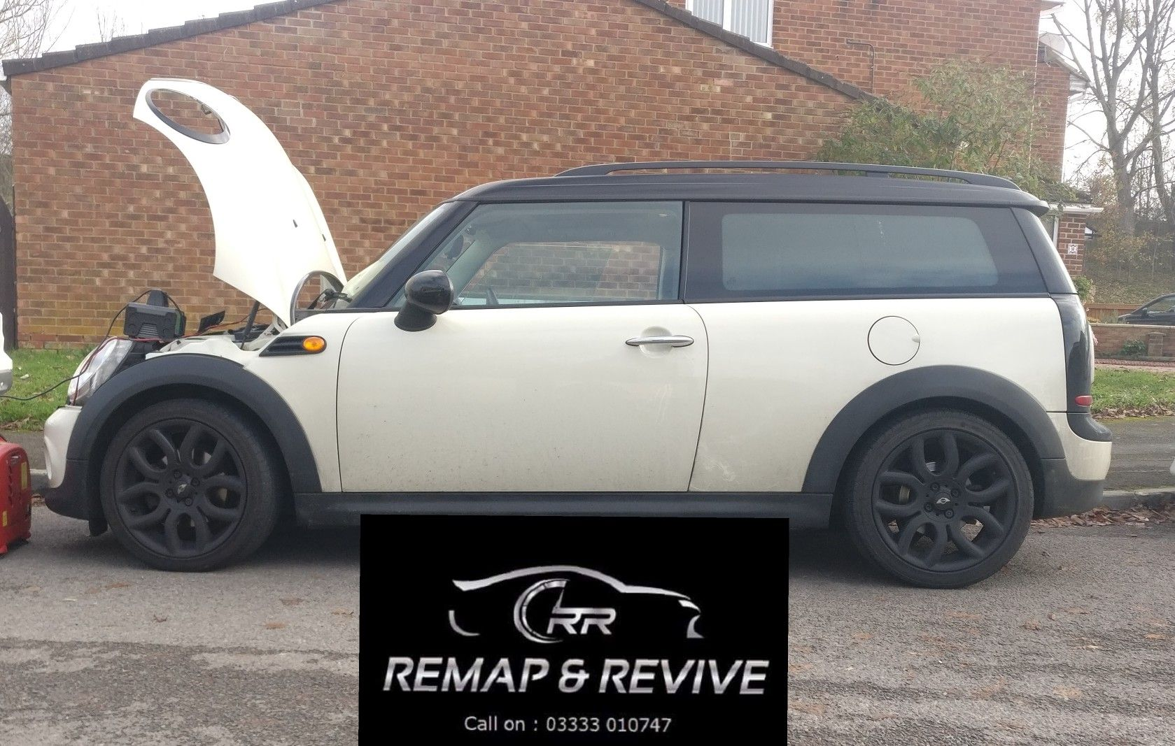 A Fantastic Mini Clubman R55 With The Bmw 16 Diesel Engine Now With