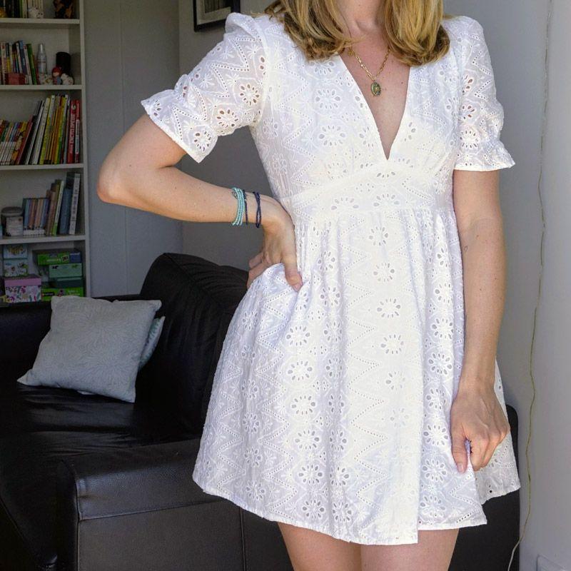 Robe blanche - Carrousel